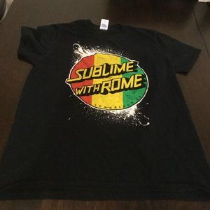 Sublime With Rome Long Beach Concert Tour T-Shirt